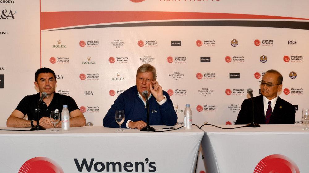亚太女子业余锦标赛中国队首轮打出预期水平