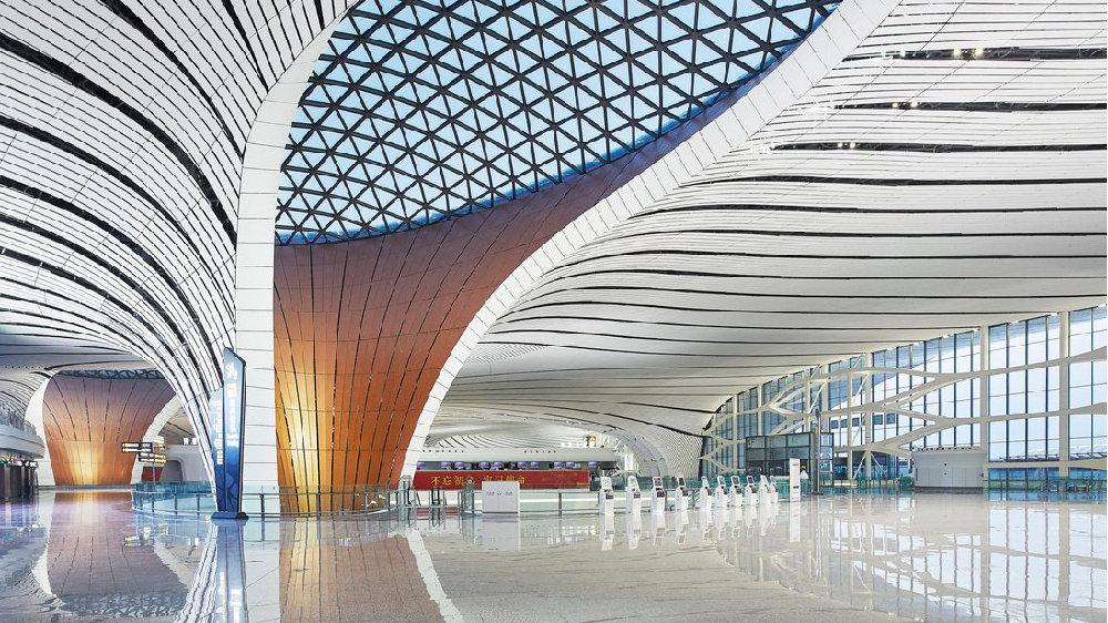 北京新机场:源自肥皂泡的灵感|大象公会
