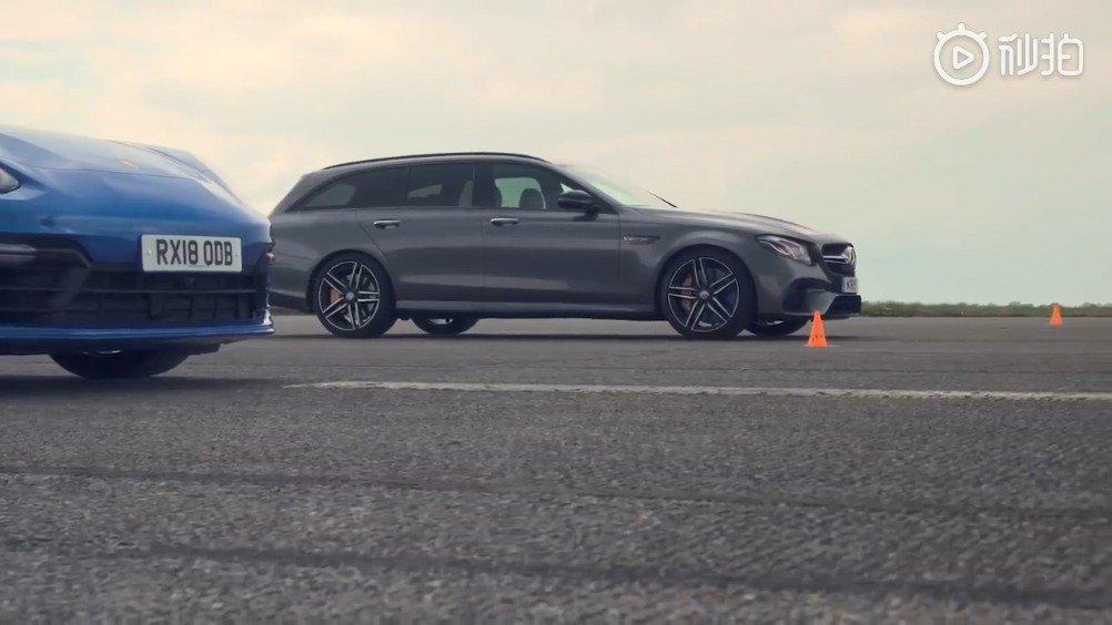 """视频:""""瓦罐""""直线加速赛:奥迪RS6 vs AMG E63 S vs Panamera Hybrid"""