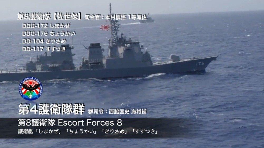 日本海上自卫队:2019·部队编制