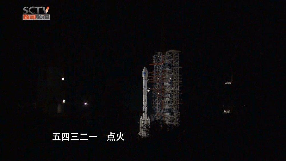 西昌:一箭双星 两颗北斗导航卫星入轨
