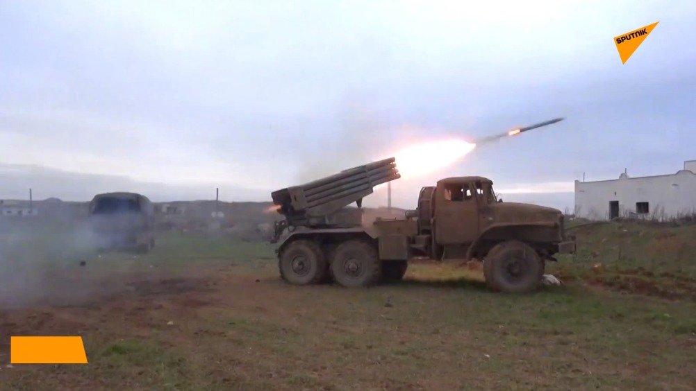 阿拉伯叙利亚军恢复在伊德利卜的军事行动