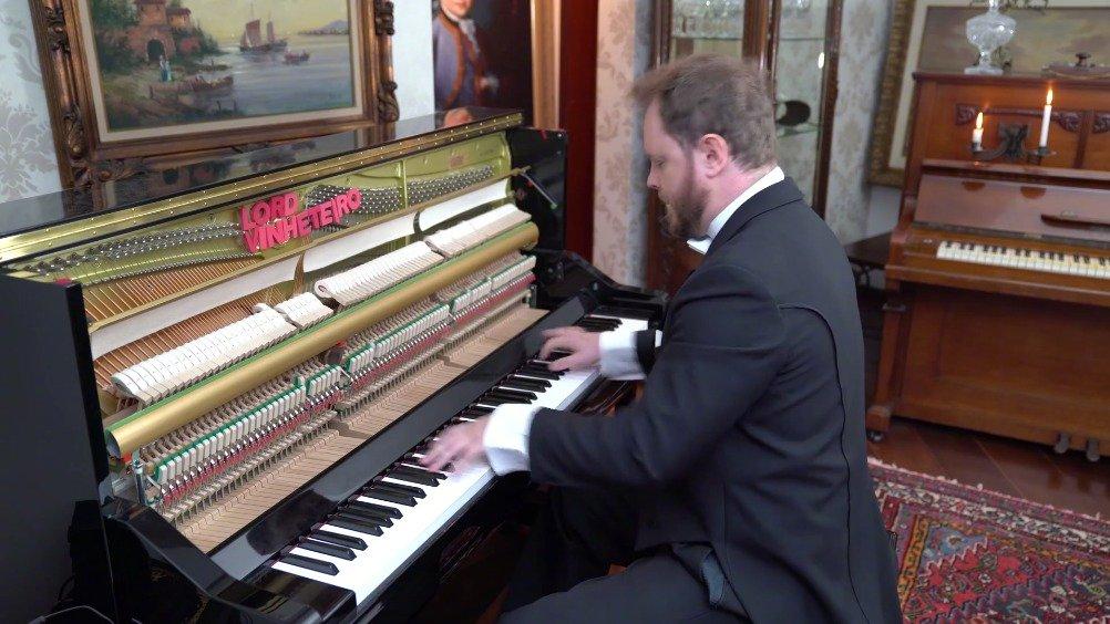瞪眼叔演奏十首难度炸裂的钢琴曲,野蜂飞舞,匈牙利狂想曲榜上有名