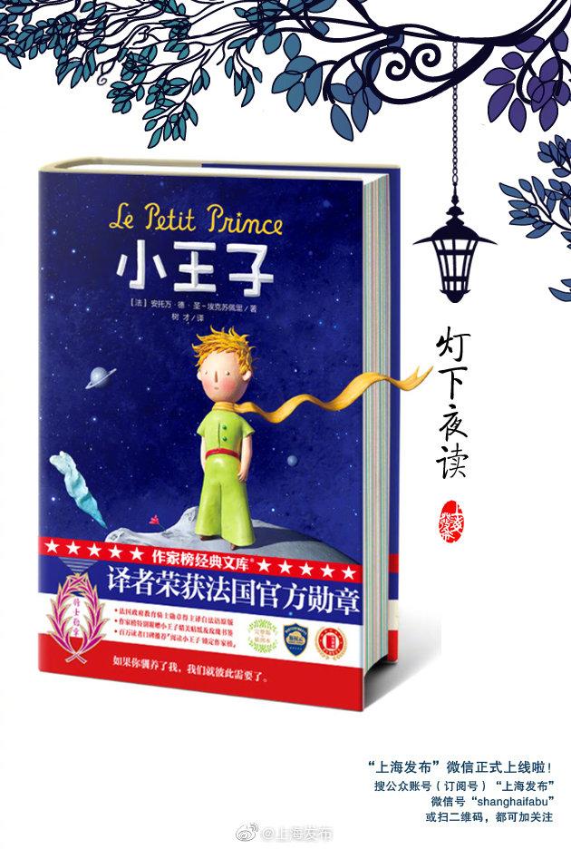偶尔总要读一读的书→《小王子》