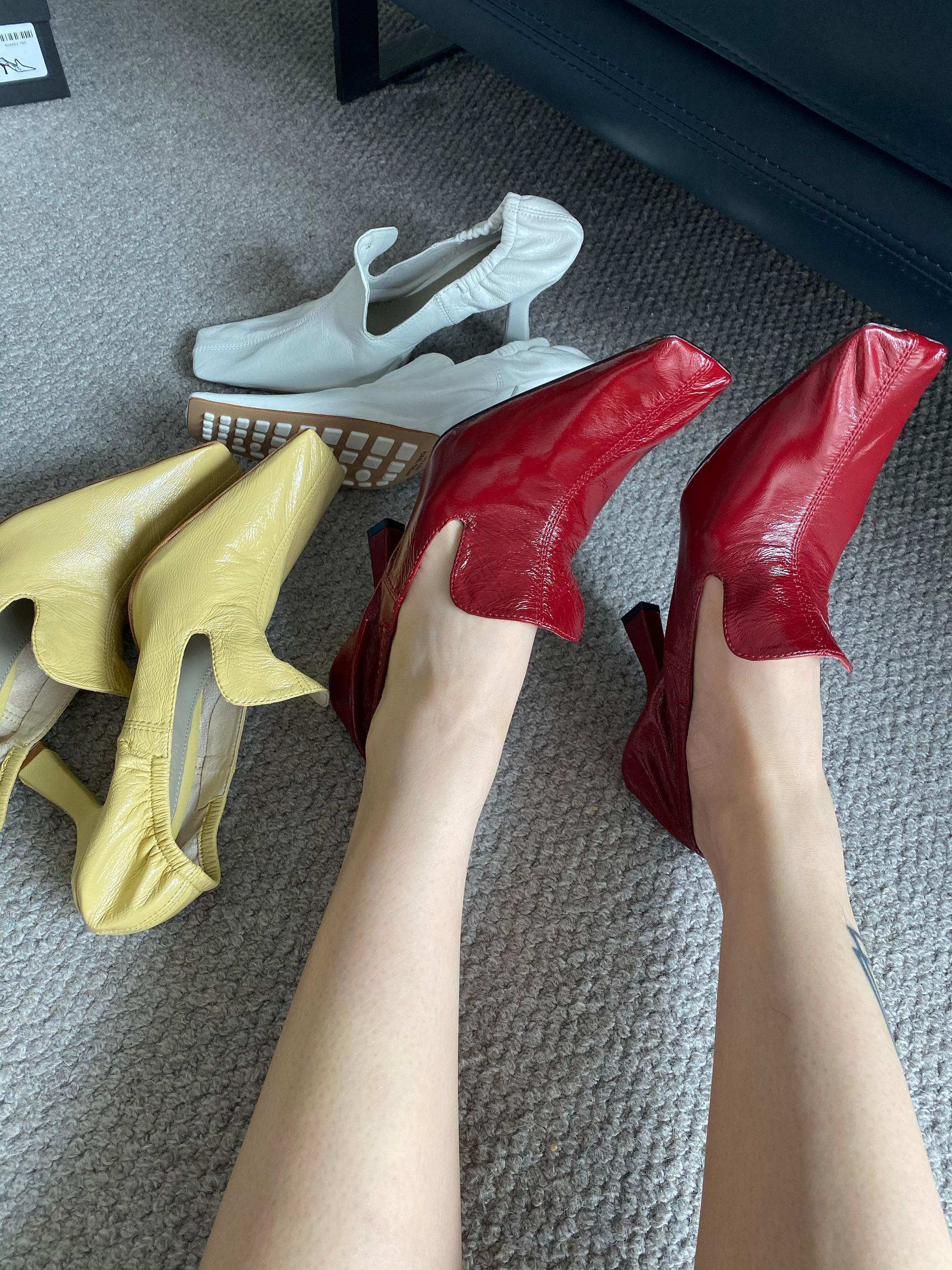 今天拍这鞋的时候,真的有心动的感觉,是我爱的没错了