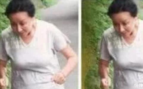 54岁刘嘉玲晨跑被围观,身材臃肿满是皱纹,不化妆和老太太一样