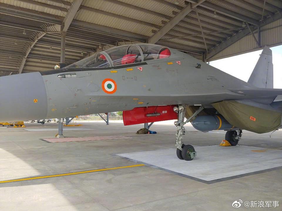 """印度空军重建第222""""虎鲨""""中队 配备""""布拉莫斯""""-A超音速反舰导弹"""