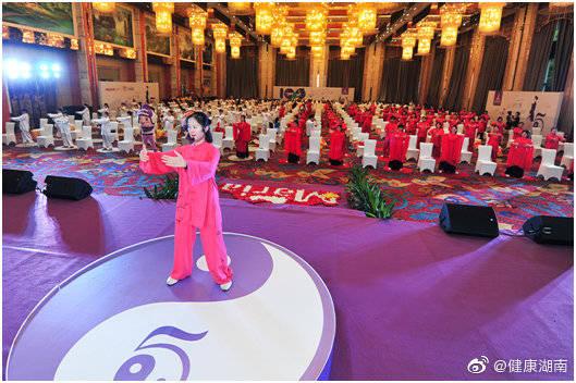 助力自然分娩   长沙玛丽亚妇产医院举办第五届孕妇太极体验营(图)