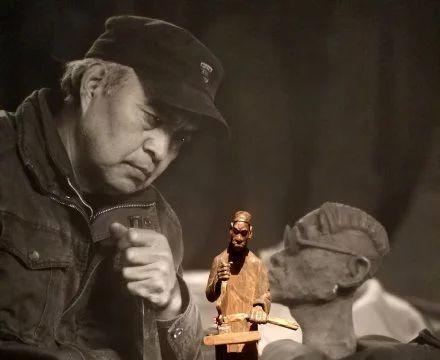 李先海|草根艺术家木雕中的百姓百态