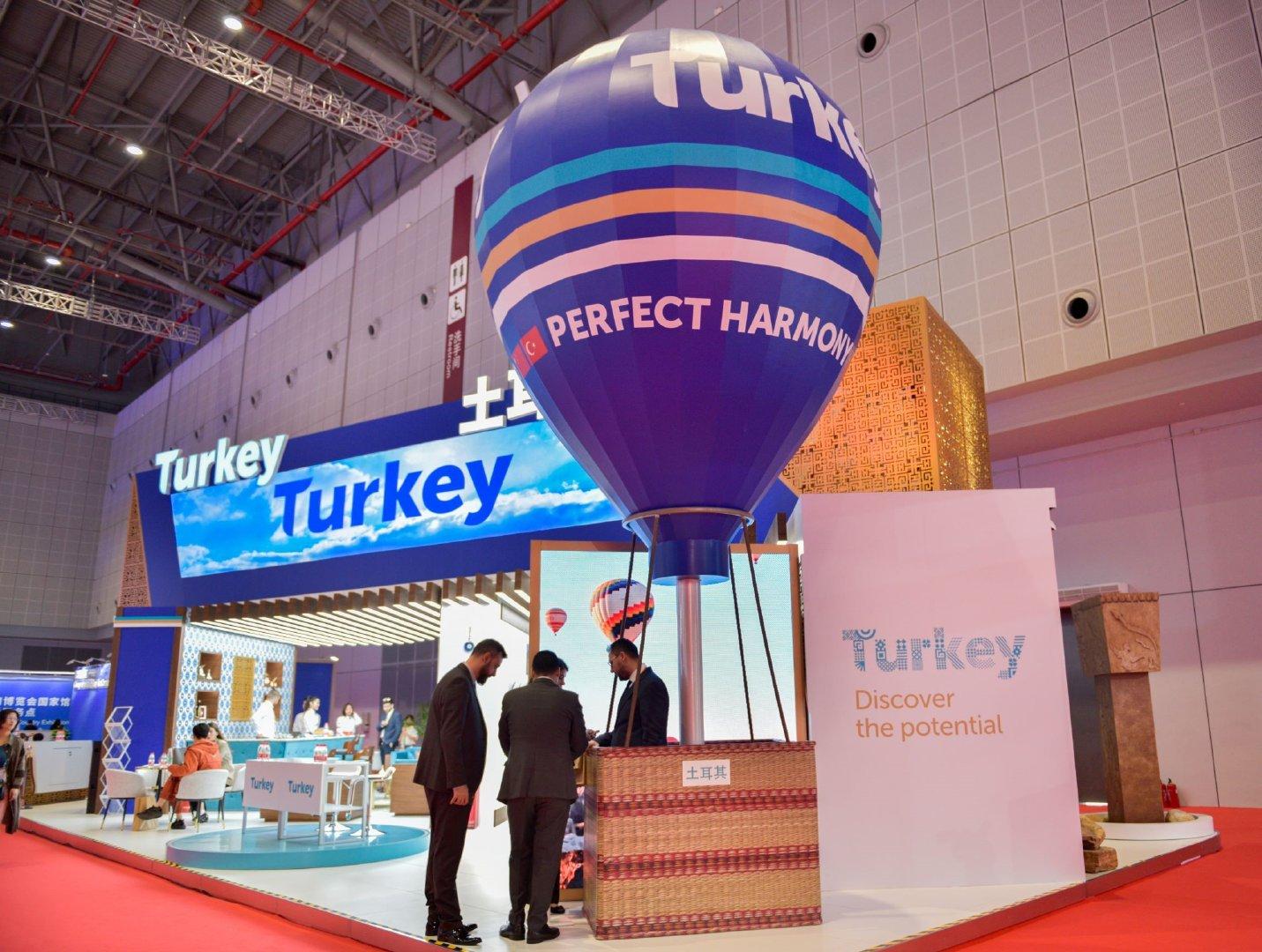 很荣幸受邀出席  土耳其国家馆的活动