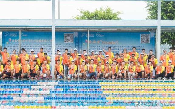 少儿游泳比赛快剪,未来游泳队的希望,好苗子!继续加油!