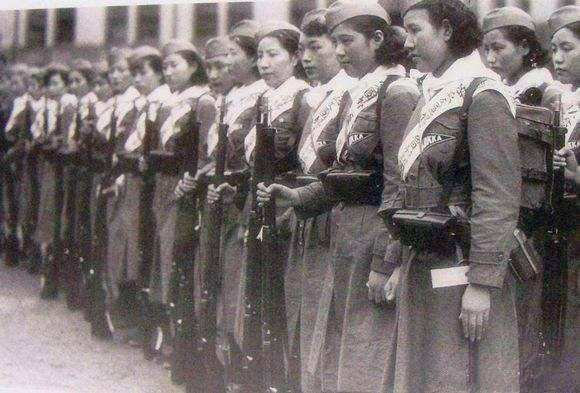 二战各国女兵什么样?日本女兵很凶残,德国女兵沦为军官玩具