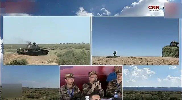 红箭10反坦克导弹与红箭12便携式反坦克导弹实验