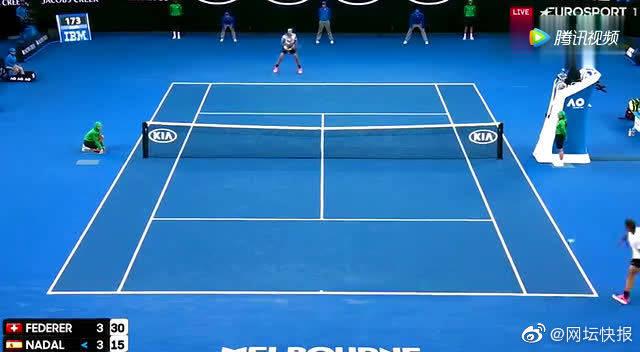 费德勒澳网十佳击球,瓦林卡、纳达尔均成背景