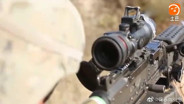 轻机枪射击训练,入这样的部队需要什么条件嘛