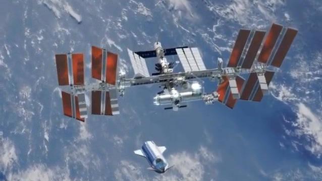 马斯克SpaceX的星际飞船对接国际空间站