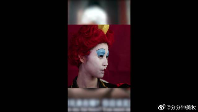 红皇后《爱丽丝梦游仙境》,真的挺像的,太厉害了