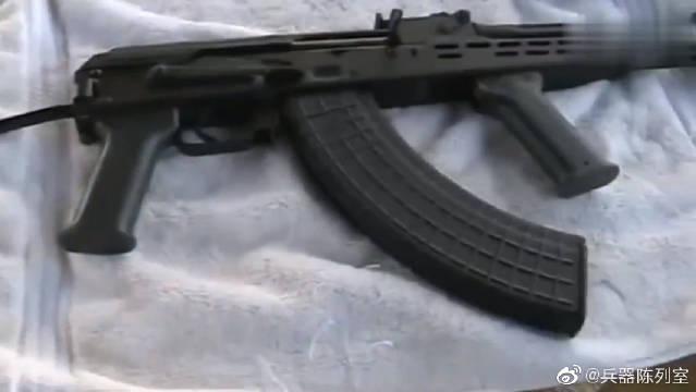 发射匈牙利AMD-65,7.62x39毫米AK-47步枪