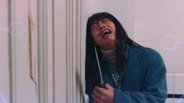 爱情公寓5张伟版《闪灵》恐怖片秒变喜剧片我真的是膜拜李佳航哈哈