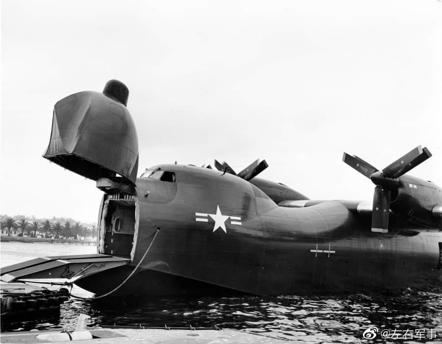 美国20世纪50年代设计的康维尔R3Y信风水上飞机