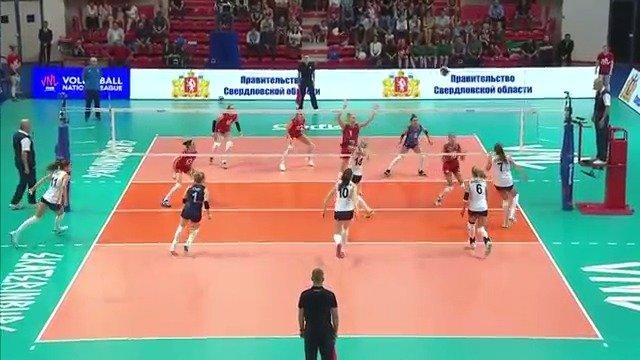 2019年世界女排联赛俄罗斯叶卡捷琳堡站,荷兰3-0俄罗斯,全场集锦
