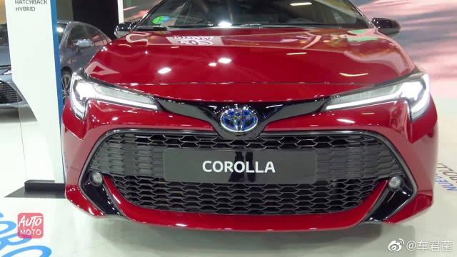 2020款丰田卡罗拉两厢掀背版