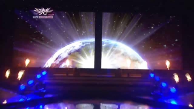 这场!!五分钟 Super Junior表演了《Superman》《a-cha》《mr