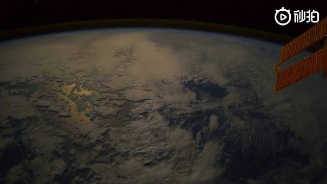 一段从太空观赏到的地球美景    :全球旅游攻略