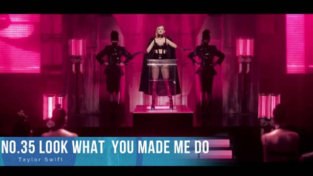 2017欧美音乐排行榜! 火星哥第三, 贾斯汀比伯第二, 第一实属黑马!