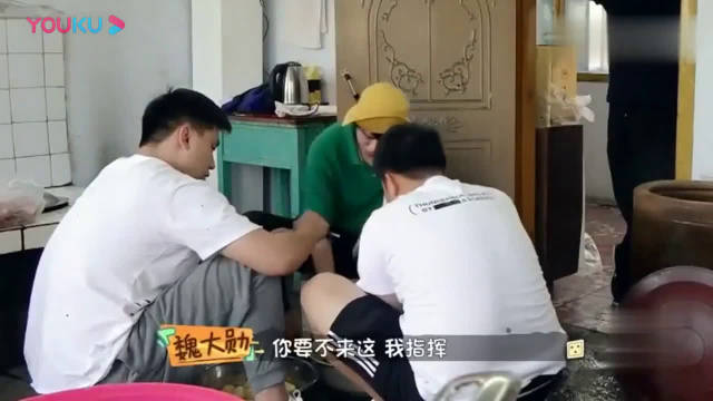 《做家务的男人》魏大勋展示东北第一翻炒,一口气做了一桌菜~