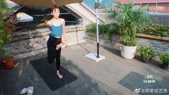 陈意涵练瑜伽,摄影师许富翔拍照超美,你的每个瞬间我都想记录