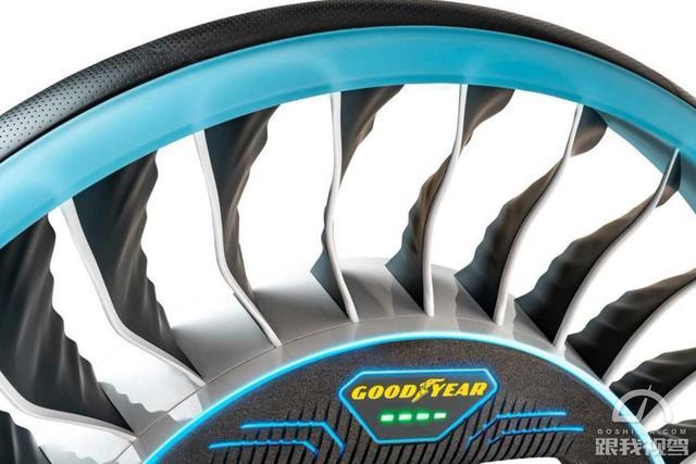 都说概念车帅 概念轮胎听说过吗?固特异发布AERO概念轮胎