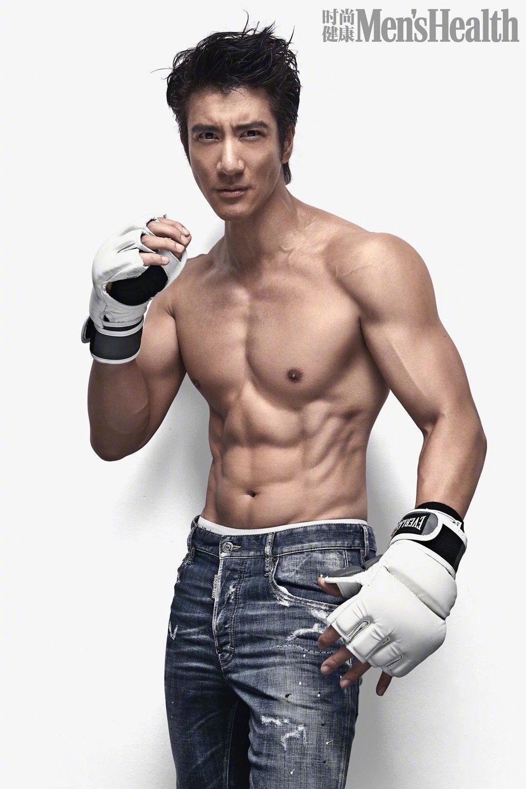 王力宏、彭于晏、向佐、蒋劲夫、许魏洲、黄景瑜~娱乐圈有名的好身材