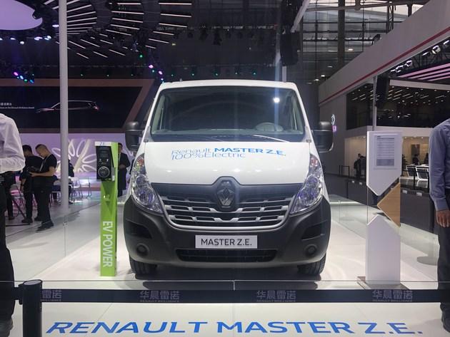 雷诺MasterZ.E.正式亮相定位电动商用车