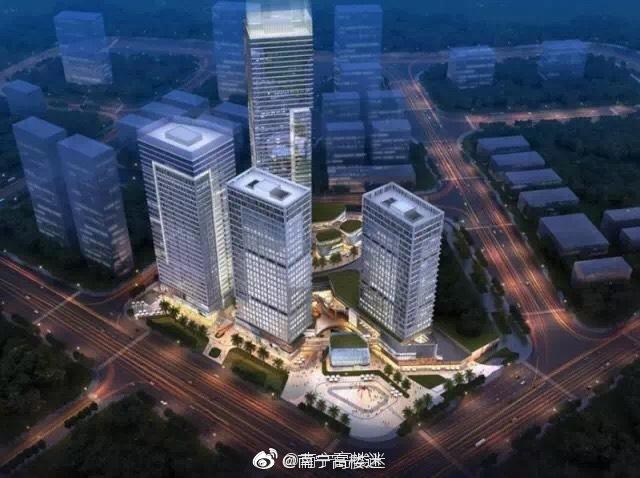 中铁北京工程局天丰公司中标南宁世茂国际中心项目南地块二期土建总承