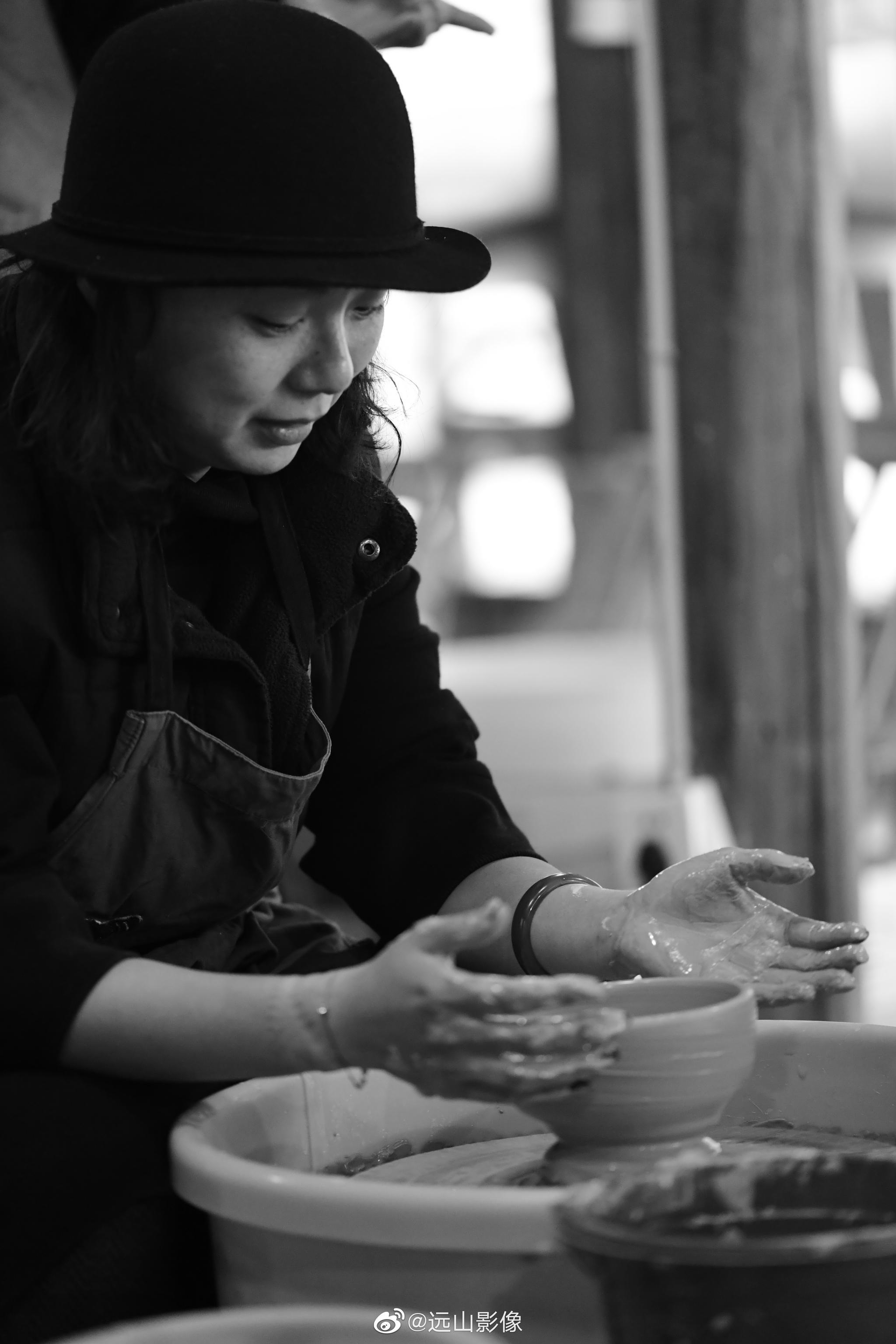 下午的陶艺体验   景德镇摄影游学图记