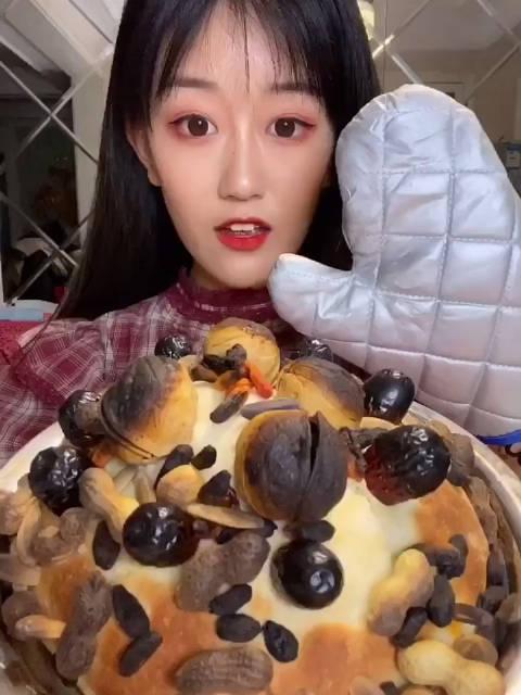薛之谦同款干果披萨 大麦