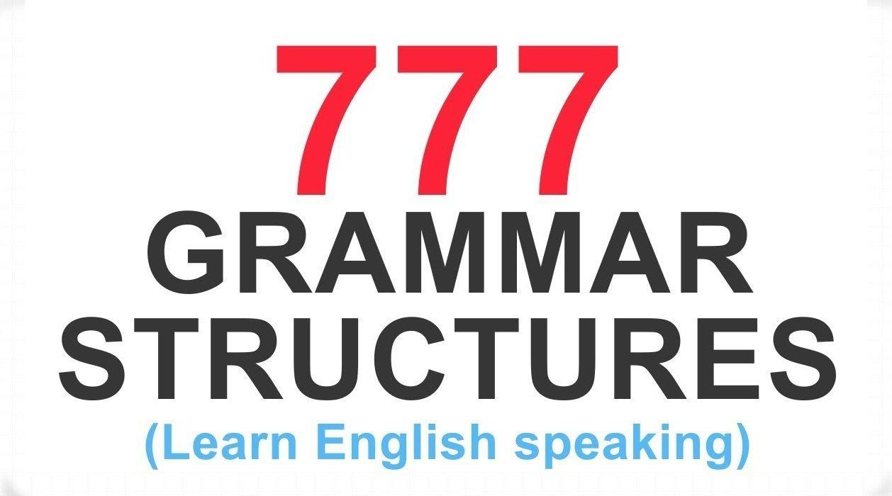 777个高分语法结构口语句型(字幕+例句)