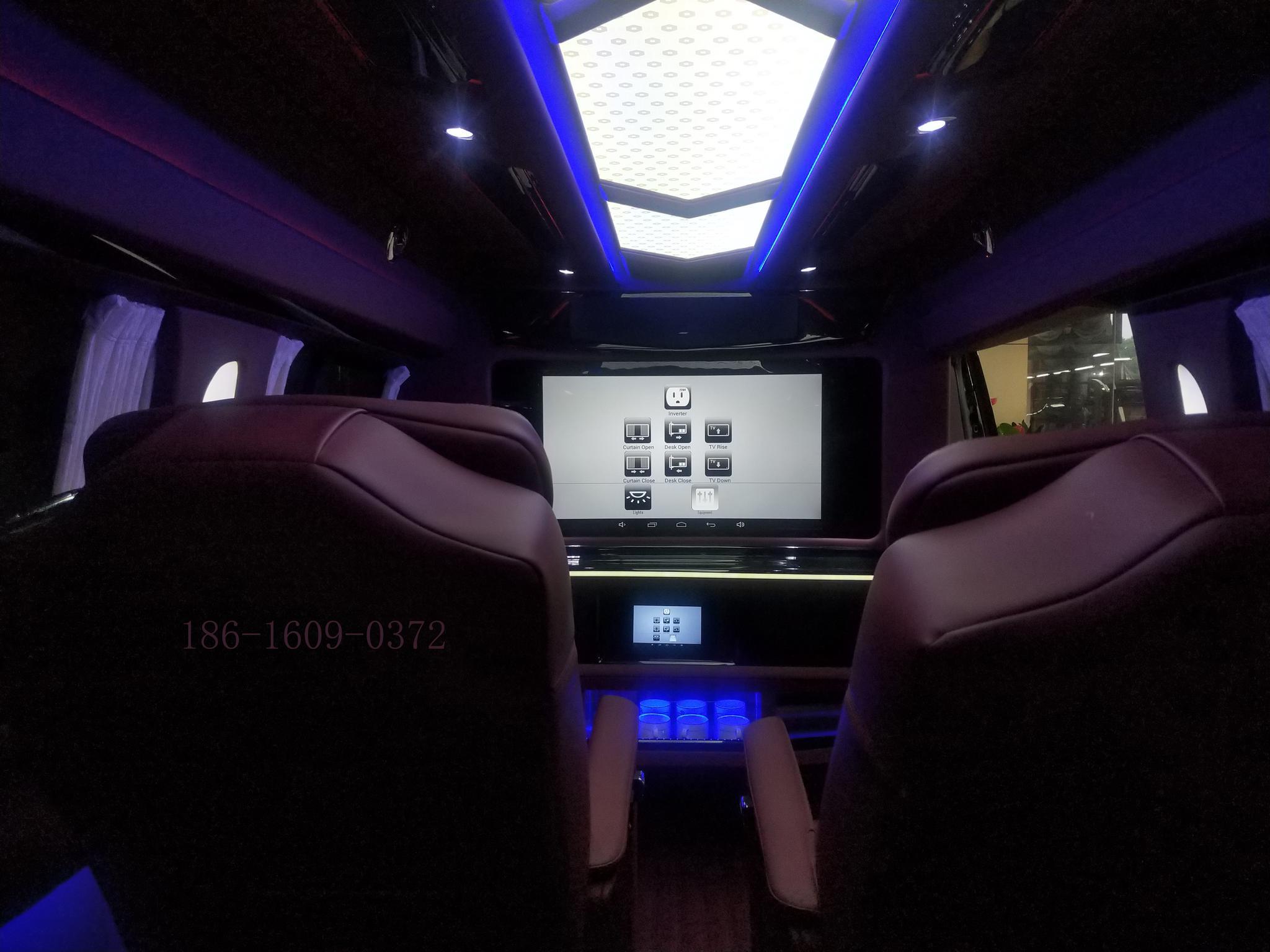 智汇舒车房车俱乐部-大众T6全新19款宾法版高顶商务房车