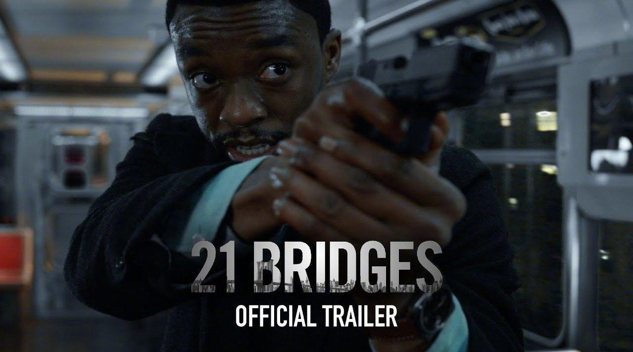 《黑豹》男星重磅新片《21座桥》首曝预告片