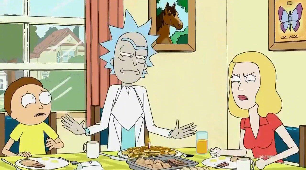 《瑞克和莫蒂》第四季今天(11.11)终于回归。发一个精华集锦: