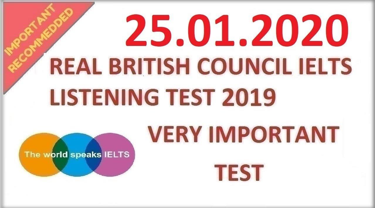 英国文化协会:雅思听力真题模拟20200125(听力原文+答案)