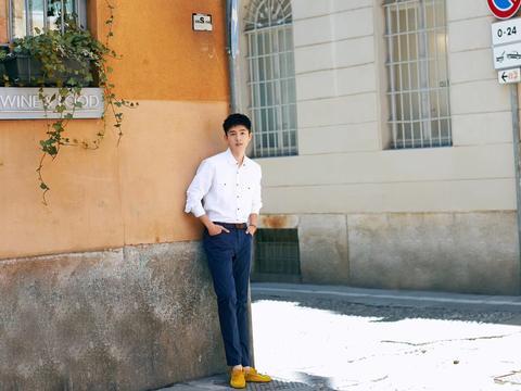 刘昊然 | 白衬衫 阳光下的少年郎