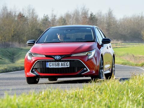 丰田及雷克萨斯,油电车款于英国再创销售新高!