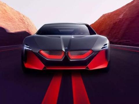 宝马愿景M下一款概念车未来战斗机
