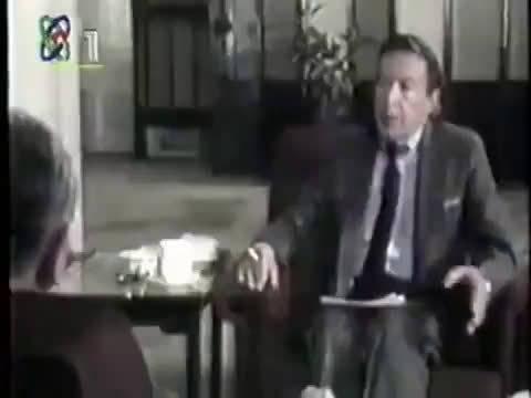 央视新闻纪录片 1986年,小平接受华莱士专访。