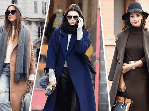 冬季百搭时尚装,教你大衣的多种服饰组合,搭配简单又时髦