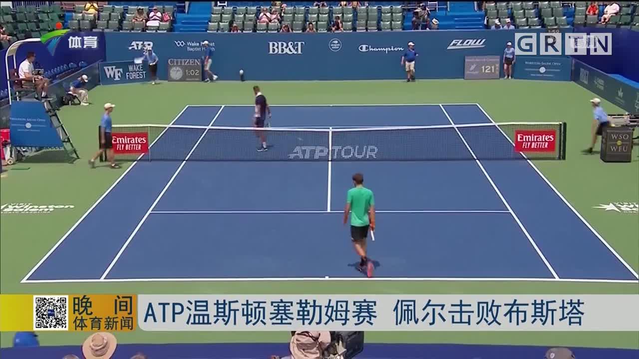ATP温斯顿塞勒姆赛 佩尔击败布斯塔
