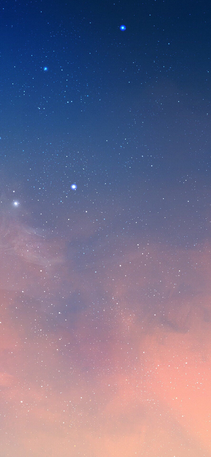 壁纸 繁星点点的夜空