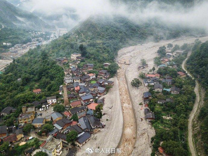 汶川暴雨已致7人遇难24人失联